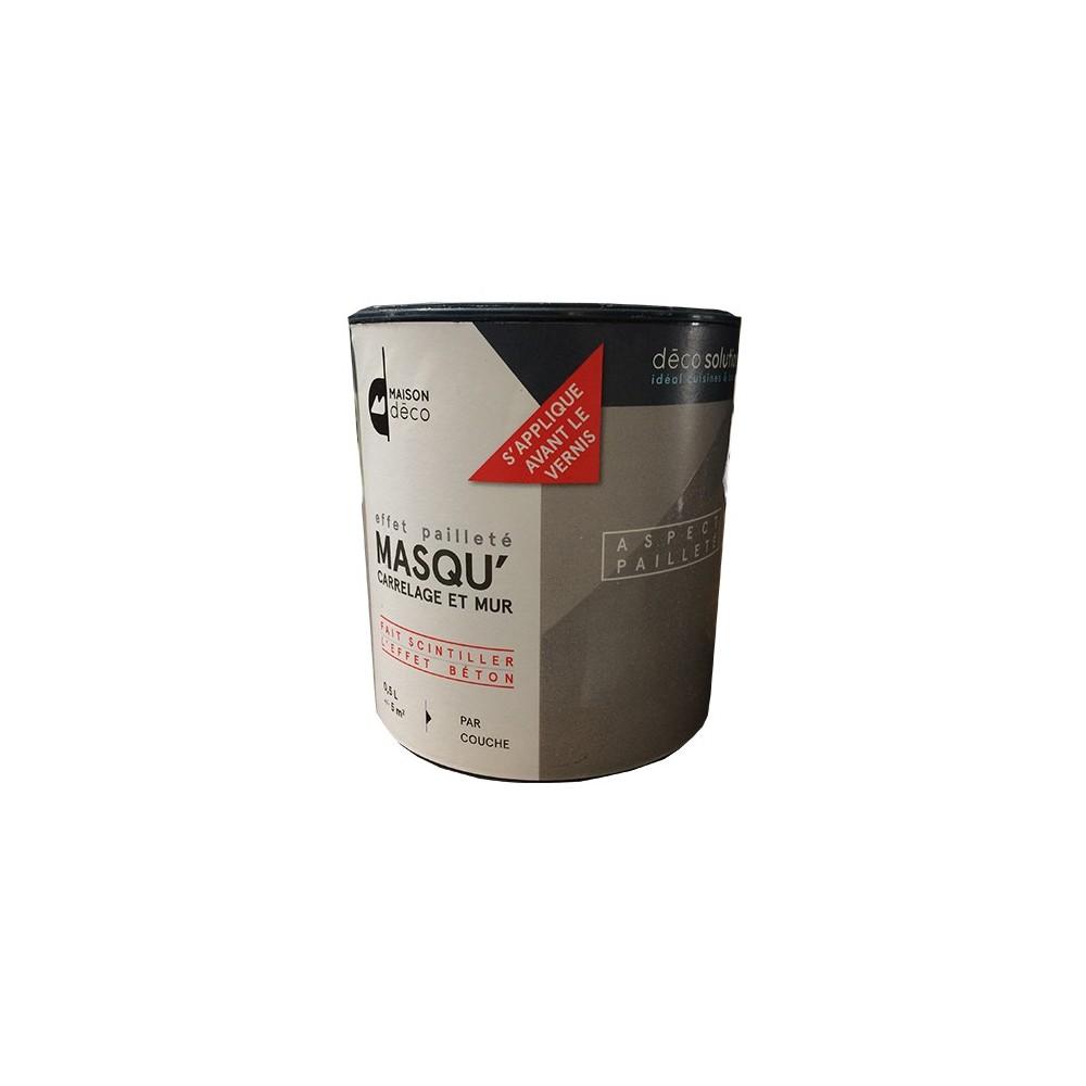 Maison d co masqu 39 effet paillet 0 5l pas cher en ligne for Peinture interieur maison pas cher