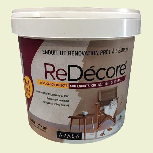 APARA   Enduit De Rénovation ReDécore 15kgs Crème ...