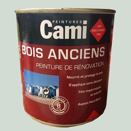 CAMI Peinture Glycéro BOIS ANCIENS Gris perle
