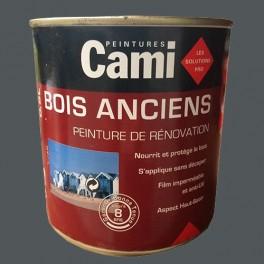 CAMI Peinture Glycéro BOIS ANCIENS Gris plomb