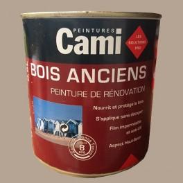 CAMI Peinture Glycéro BOIS ANCIENS Grège