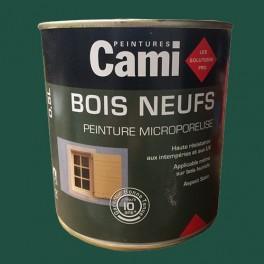 CAMI Peinture Glycéro BOIS NEUFS Vert Basque