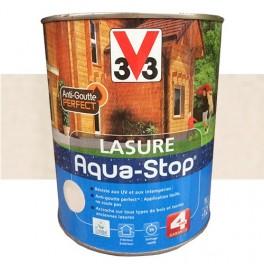 V33 Lasure Aqua-stop 4ans Anti-goutte Blanc