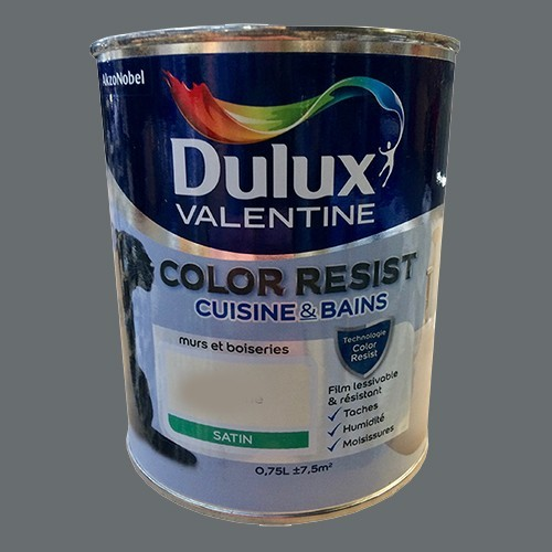 dulux valentine peinture acrylique color resist cuisine. Black Bedroom Furniture Sets. Home Design Ideas