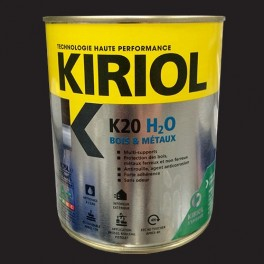 KIRIOL Peinture acrylique K20 H2O Noir mat
