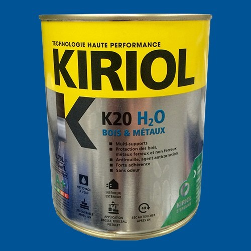 KIRIOL Peinture acrylique K20 H2O Bleu signal