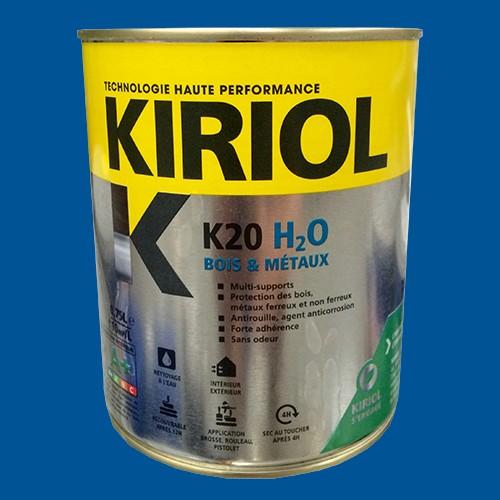 kiriol peinture acrylique k20 h2o bleu signal pas cher en ligne. Black Bedroom Furniture Sets. Home Design Ideas