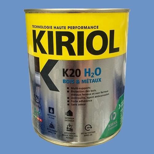 kiriol peinture acrylique k20 h2o bleu provence pas cher en ligne partir de. Black Bedroom Furniture Sets. Home Design Ideas