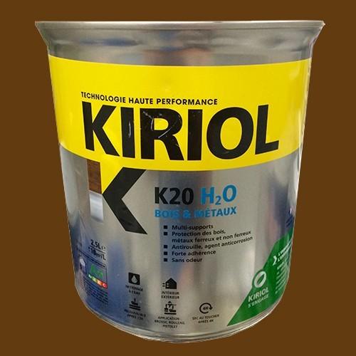 kiriol peinture acrylique k20 h2o brun bois pas cher en ligne partir de. Black Bedroom Furniture Sets. Home Design Ideas