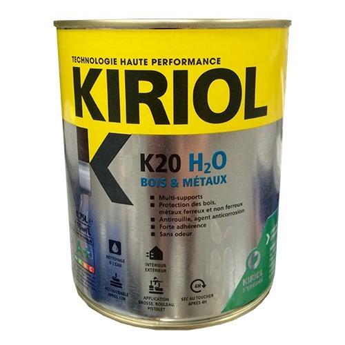 Kiriol Peinture Acrylique K20 H2o Blanc Brillant Pas Cher En Ligne