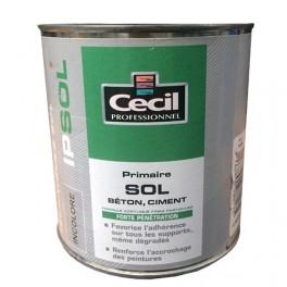 """CECIL Primaire sol """"IP SOL"""" Incolore"""