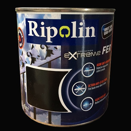 RIPOLIN Protection Extrême Fer Noir
