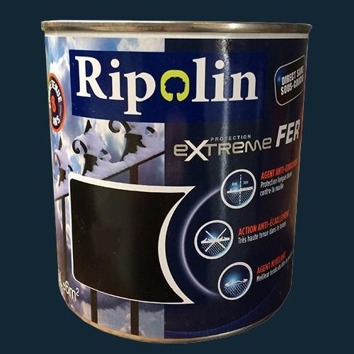 Ripolin Protection Extrême Fer Gris Anthracite Ral 7016 Pas Cher En