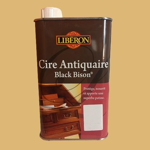 lib ron cire antiquaire black bison ch ne clair liquide pas cher en ligne. Black Bedroom Furniture Sets. Home Design Ideas