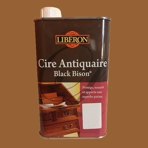 lib ron cire antiquaire black bison ch ne fonc liquide pas cher en ligne. Black Bedroom Furniture Sets. Home Design Ideas