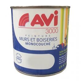 AVI 3000 Peinture Acrylique Murs & Boiseries Blanc