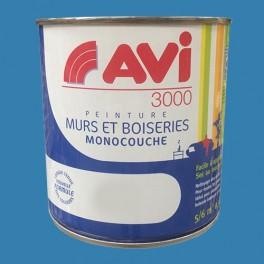 AVI 3000 Peinture Acrylique Murs & Boiseries Bleu Bora Bora