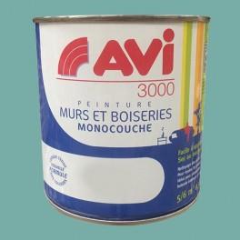 AVI 3000 Peinture Acrylique Murs & Boiseries Bleu Lagon