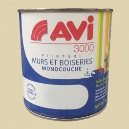 AVI 3000 Peinture Acrylique Murs & Boiseries Coquille d'oeuf
