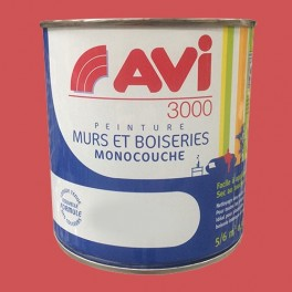 AVI 3000 Peinture Acrylique Murs & Boiseries Fushia