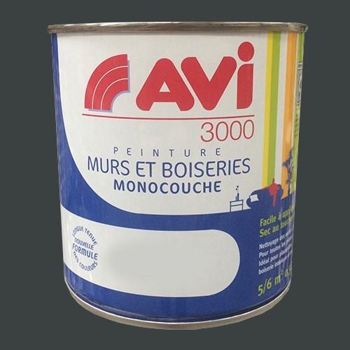 Avi 3000 Peinture Acrylique Murs Boiseries Gris Cendre Pas Cher En Ligne