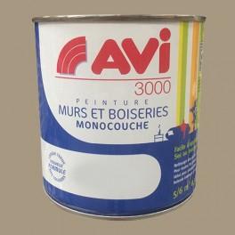 AVI 3000 Peinture Acrylique Murs & Boiseries Gris galet