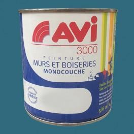 AVI 3000 Peinture Acrylique Murs & Boiseries Indigo