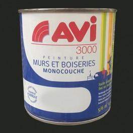 AVI 3000 Peinture Acrylique Murs & Boiseries Noir