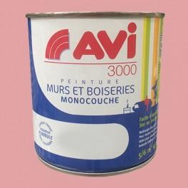 AVI 3000 Peinture Acrylique Murs & Boiseries Rose boudoir