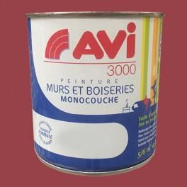 AVI 3000 Peinture Acrylique Murs & Boiseries Rouge opéra