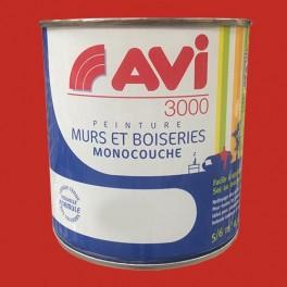 AVI 3000 Peinture Acrylique Murs & Boiseries Rouge cerise
