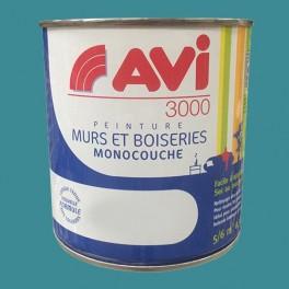AVI 3000 Peinture Acrylique Murs & Boiseries Turquoise profonde