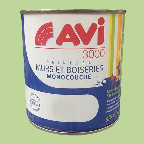 Avi 3000 peinture acrylique murs boiseries vert bambou - Materiel peinture acrylique pas cher ...