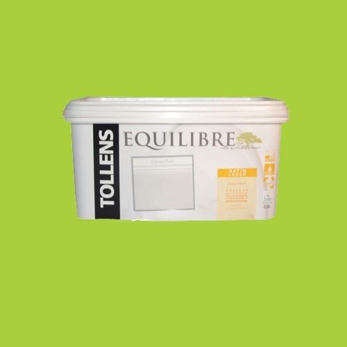 tollens peinture equilibre satin l ger citron vert 2 5l pas cher en ligne. Black Bedroom Furniture Sets. Home Design Ideas