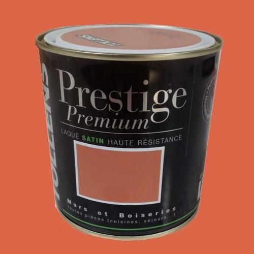 tollens peinture prestige premium laqu paprika satin pas cher en ligne. Black Bedroom Furniture Sets. Home Design Ideas
