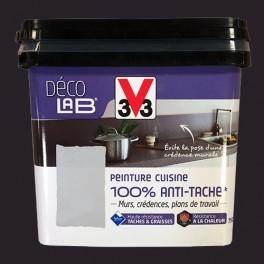 ... V33 Déco LAB Peinture Cuisine 100% Anti Tâche Carbone