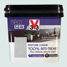 V33 Déco LAB Peinture Cuisine 100% Anti-Tâche Galet