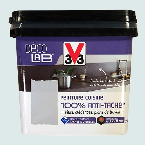 V33 d co lab peinture cuisine 100 anti t che galet pas cher en ligne - Peinture cuisine pas cher ...