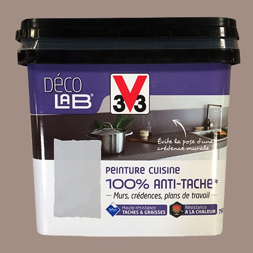 V33 Deco Lab Peinture Cuisine 100 Anti Tache Humus