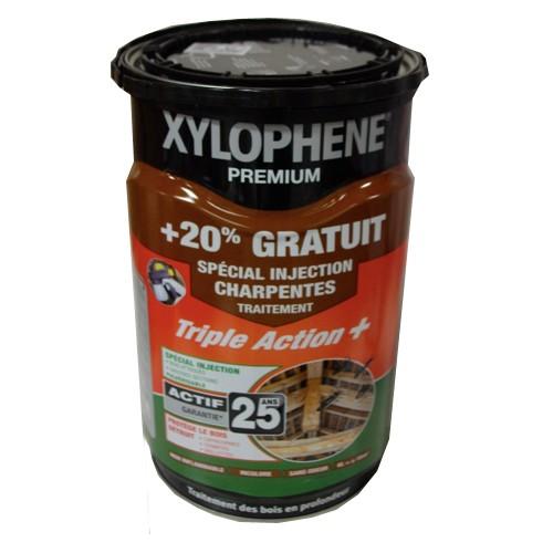 Elegant Xylophene Traitement XYLOPHENE Premium Spécial Injection Charpentes  Incolore 6L ...