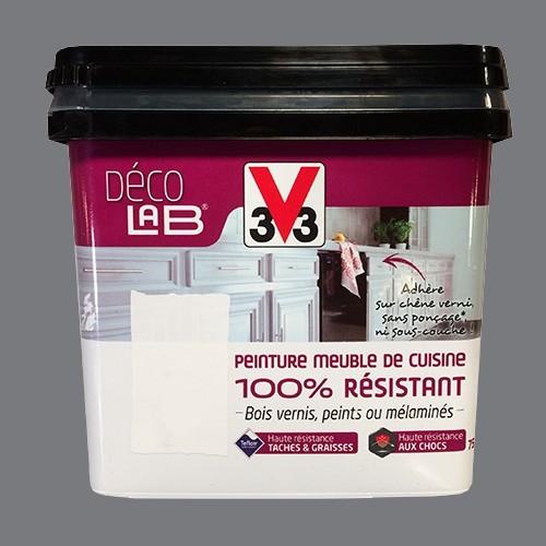 V33 Déco LAB Peinture Meuble de cuisine 100% Résistant Roche