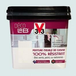 V33 Déco LAB Peinture Meuble de cuisine 100% Résistant Galet