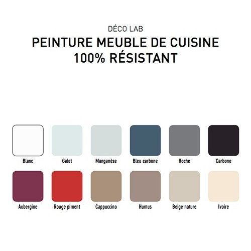 V33 d co lab peinture meuble de cuisine 100 r sistant ivoire pas cher en ligne - Peinture v33 meuble ...