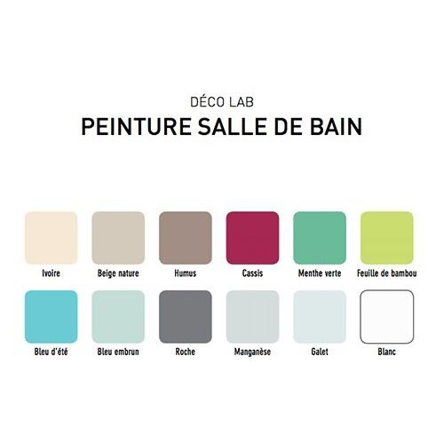 V33 Deco Lab Peinture Salle De Bain 100 Etanche Menthe Verte