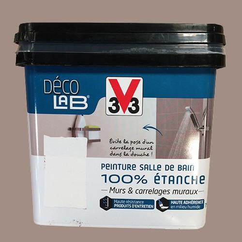 v33 d co lab peinture salle de bain 100 etanche humus pas cher en ligne. Black Bedroom Furniture Sets. Home Design Ideas