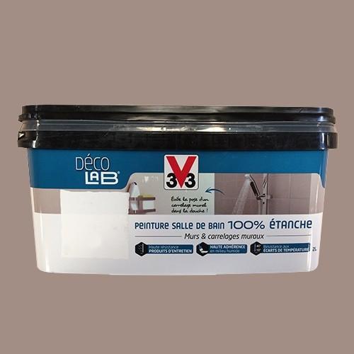 v33 d co lab peinture salle de bain 100 etanche humus pas. Black Bedroom Furniture Sets. Home Design Ideas