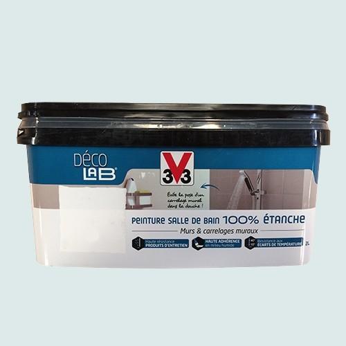 v33 d co lab peinture salle de bain 100 etanche galet pas cher en ligne. Black Bedroom Furniture Sets. Home Design Ideas