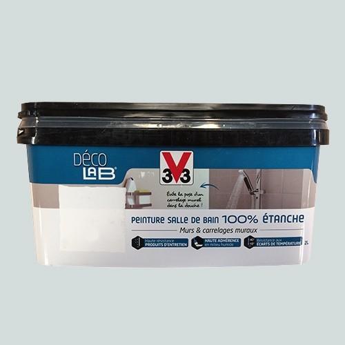 V33 d co lab peinture salle de bain 100 etanche mangan se - Peinture salle de bain etanche ...