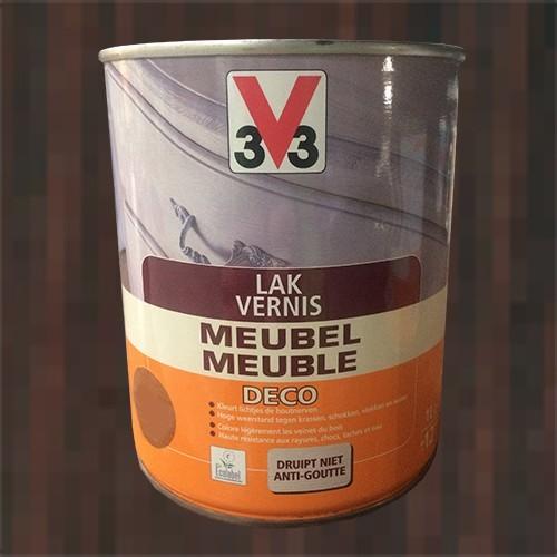 V33 vernis meuble d co weng satin pas cher en ligne - Peinture meuble pas cher ...