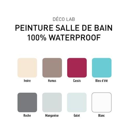 v33 d co lab peinture salle de bain 100 waterproof blanc. Black Bedroom Furniture Sets. Home Design Ideas